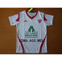 Comaagsmex. Jersey Blanco Necaxa... Pirma Cl-2013...