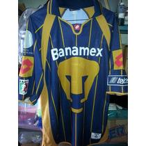 Jersey Playera Pumas Unam Campeon Año 2004