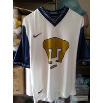 Jersey Playera Pumas Unam Año 1998 Nike Mediana