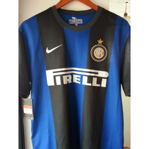 Jersey Inter De Milán Local 2012-2013 Nike Drifit Original