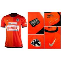Jersey Tercero Del Monterrey 2013. Nike. Talla M.