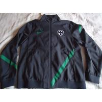 Chamarra Rayados Monterrey Nike Utileria Chaquetin Gomas T