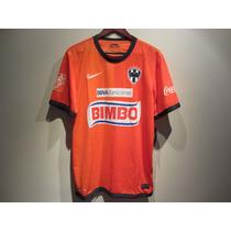 Jersey Nike Rayados De Monterrey Naranja 12/13 Nuevo M Y L