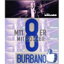 Estampados Tigres 2014 Nuevo, $99 Burbano 8 Original M11