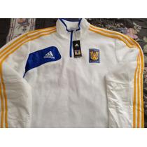 Tigres Uanl Sudadera Fleece Zip 1/4 Adidas Original