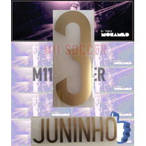 Estampados Tigres 2014 Nuevo Juninho 3 Original Dorado