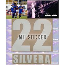Estampados Tigres Visita #22 Silvera 2003-2004 $99