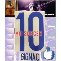 Estampados Tigres 2014 Nuevo, $99 #10 Gignac M11 Soccer