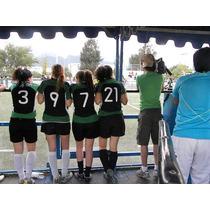 Uniforme De Futbol Femenil Varios Colores Diseños Especiales