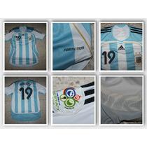 Argentina, Utilería De Messi Vs México, 2006