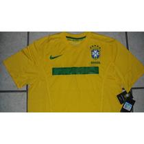 Jersey Nike Seleccion Brasil 2012 Canariñha Neymar No Clones