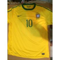 Jersey Nike Brasil Kaka 2010 Talla Xl