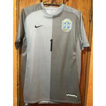Jersey De Portero Selección De Brasil Dida Nike Manga Corta