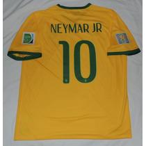 Jersey Seleccion Brasil Neymar Jr 10 Mundial 2014 Nike
