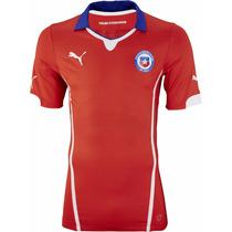 Jersey Puma De La Seleccion De Chile Vidal Talla Xxl De Niño