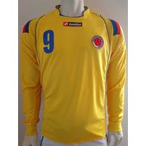 Jersey De La Selección Colombia Falcao Manga Larga.