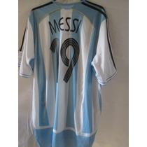 Jersey De Argentina Mundial 2006 Messi Original Chica