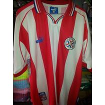 Jersey Playera Seleccion De Paraguay Cardozo Año 2000