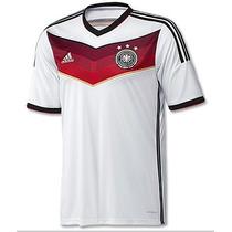 Jersey Adidas Alemania Mundial Brasil 2014 Jugador C/num