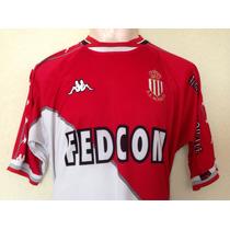 Jersey Camiseta Mónaco Uefa Europa Futbol Rafa Marquez Kappa