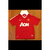 Jersey Original Del Manchester United De La Temporada 10/11