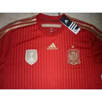 Jersey Adidas Seleccion De España 100% Original Brasil 2014