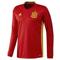Jersey Adidas España Euro2016 Local Man Larga Original C/num