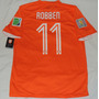 Jersey Seleccion Holanda Arjen Robben 11 Nike Mundial 2014