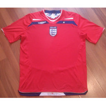 Jersey Inglaterra, Large Adulto, Umbro, Rojo, Original