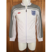 Chamarra Trackjacket Inglaterra Color Blanco Umbro 2012-2013