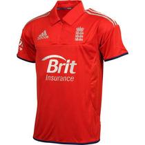 Jersey Selección Inglaterra Cricket Juego Marca Adidas 2014