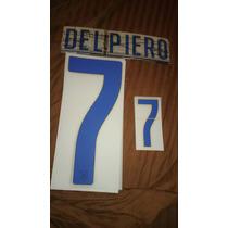 Numeracion Italia 2014 Del Piero Sporting Id Original Visita