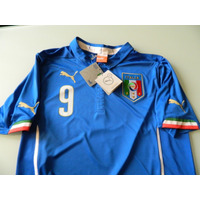 Jersey Italia Mundial Brasil 2014 De Balotelli #9 Puma