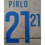 Italia Estampado Mundial Brasil 2014 Pirlo Balotelli
