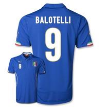 Remate Jersey Puma De Italia Para Niño Con Numero Balotelli
