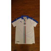 Jersey Puma Italia Visita 2015-15 C/num Original