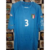Camiseta Maldini Italia Kappa 2002 Korea Japon