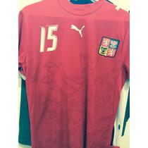 Vendo Jersey República Checa 2006 De Milan Baros Original