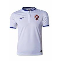 Jersey Playera Portugal Blanca Nike