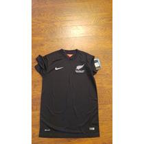 Jersey Nike Nueva Zelanda Local 2014 Original C/num