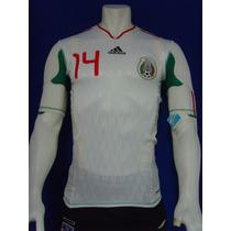 Playera Techfit Selección Mexicana Mundial 2010