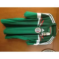 Jersey Selección Mexicana Tall L Nuevo Original Marti Adidas