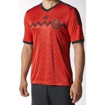 Jersey Rojo Mexico-original-nuevo-con Empaque-talla Grande