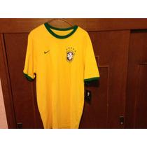Subasta Playera Nike Brasil Talla Xl