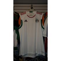 Playera Adidas De Mexico Sin Mangas Talla L