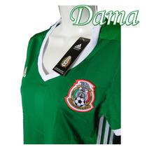 Jersey Mexico Mujer Dama 2016 Copa America Talla S/ch