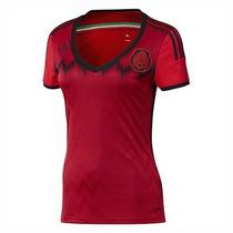 Jersey Adidas Seleccion Mexicana D Futbol De Mujer *oferta*