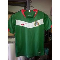 Jersey Playera Seleccion Mexicana De Niño Alemania 2006