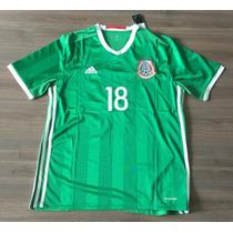 Jersey México 2016 Copa América Centenario Rotulado