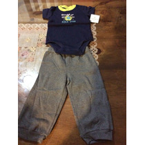 Cojuntos Para Bebes Niño Carters Pants Tallas 3-6 Meses 2pzs